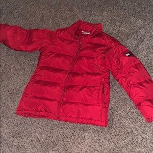 Tommy Hilfiger Red Medium Down-Jacket